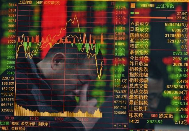 """Μεγαλώνει ο φόβος ότι θα σκάσει η """"φούσκα"""" στο Κινεζικό χρηματιστήριο"""