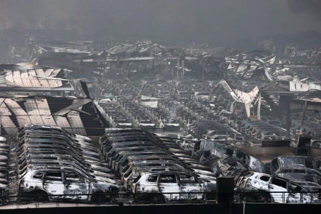 50 οι νεκροί στο λιμάνι της Τιαντζίν