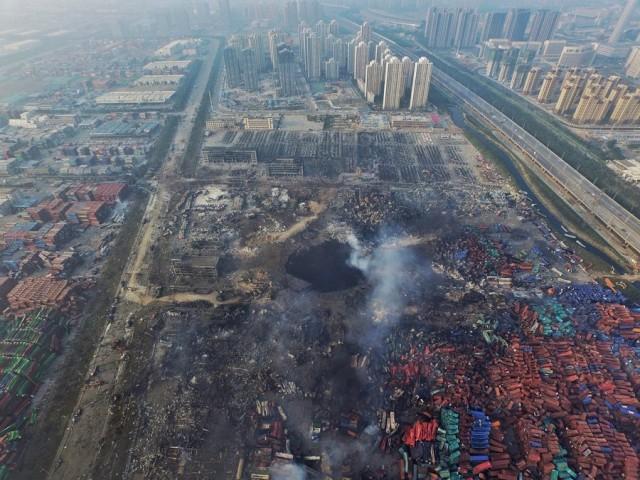 Tianjin: Απαγόρευση προσέγγισης στα πλοία που περιέχουν επικίνδυνα φορτία