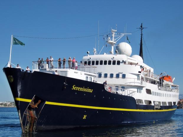 Στο λιμάνι της Θεσσαλονίκης το κρουαζιερόπλοιο «Serenissima»