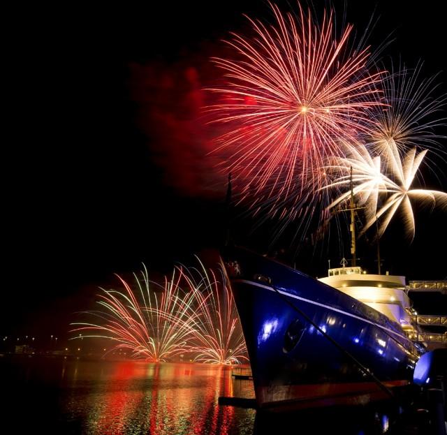 Το Royal Yacht Britannia σημείο αναφοράς για το βρετανικό Στέμμα