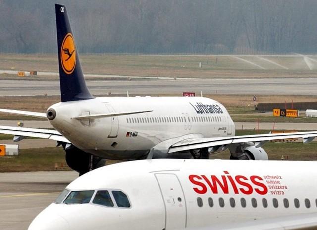 Κορυφαίες αεροπορικές εταιρείες της Ευρώπης η Lufthansa και η Swiss