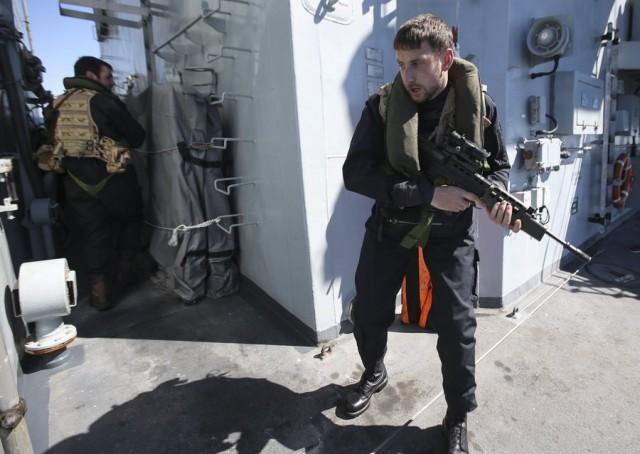 Συμβουλές για την χρήση ενόπλων φρουρών επί του πλοίου