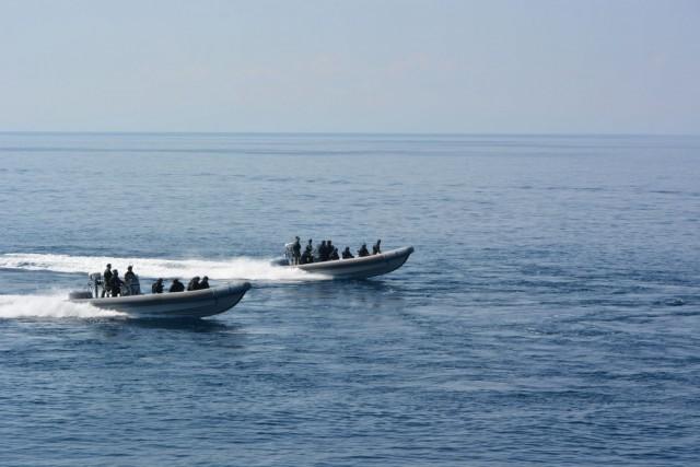 H Ομάδα Εργασίας FRONTEX στις εγκαταστάσεις της Μονάδας Υποβρυχίων Αποστολών