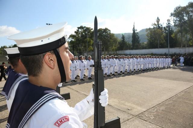 Η τελετή ορκωμοσίας της 36ης εκπαιδευτικής σειράς Δόκιμων Υπαξιωματικών του ΠΝ