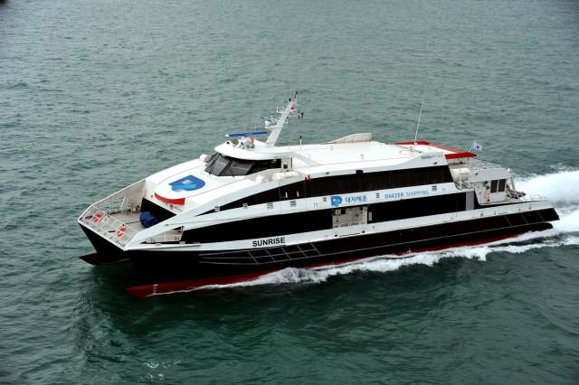 Η Damen παραδίδει το 3ο ferry για το 2015 στη Νότιο Κορέα