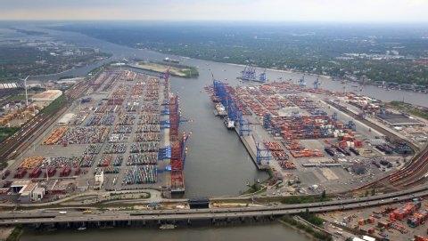 Τα ιζήματα προκαλούν προβλήματα ναυσιπλοΐας στο λιμάνι του Αμβούργου
