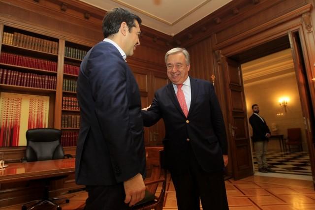 Στην Αθήνα ο Ύπατος Αρμοστής του ΟΗΕ για τους Πρόσφυγες