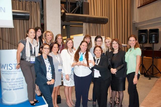 Η  WISTA Hellas κατέκτησε το βραβείο International «Προσωπικότητα για το 2015»