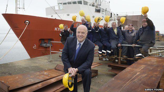 Δύο νέες ναυπηγήσεις διασφαλίζουν τις υπάρχουσες 150 θέσεις εργασίας του ναυπηγείου Ferguson Marine