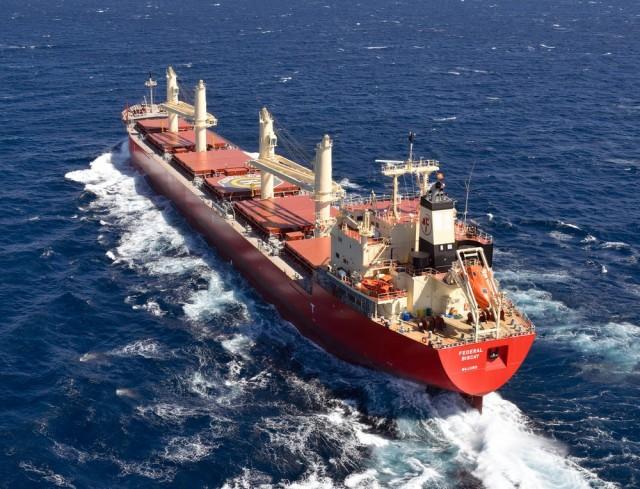 Το πρώτο Καναδέζικο bulker με σύστημα επεξεργασίας έρματος