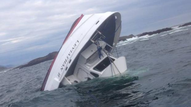 Βύθιση σκάφους περιήγησης για την παρατήρηση φαλαινών: Πέντε επιβάτες πνίγηκαν υπάρχουν αγνοούμενοι