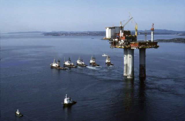 Δεύτερη διαρροή πετρελαίου στην πλατφόρμα  Statfjord A, στη Βόρεια Θάλασσα
