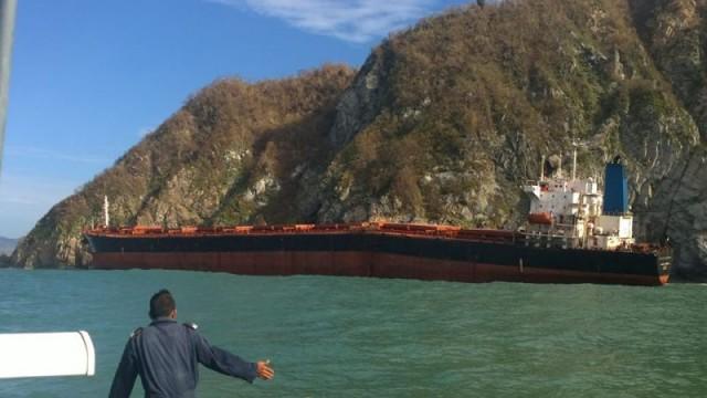 Θύμα του τυφώνα Patricia η προσάραξη του πλοίου «Los Llanitos»