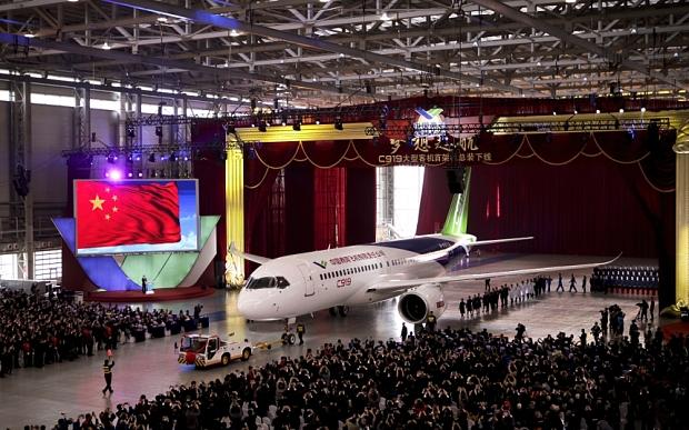 Αεροπλάνα made in China!