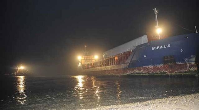 Προσάραξη φορτηγού πλοίου στα Δαρδανέλια