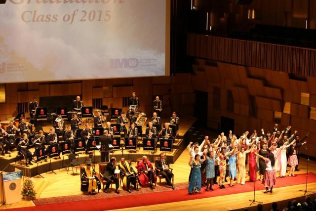 202 νέοι απόφοιτοι από το Παγκόσμιο Ναυτιλιακό Πανεπιστήμιο