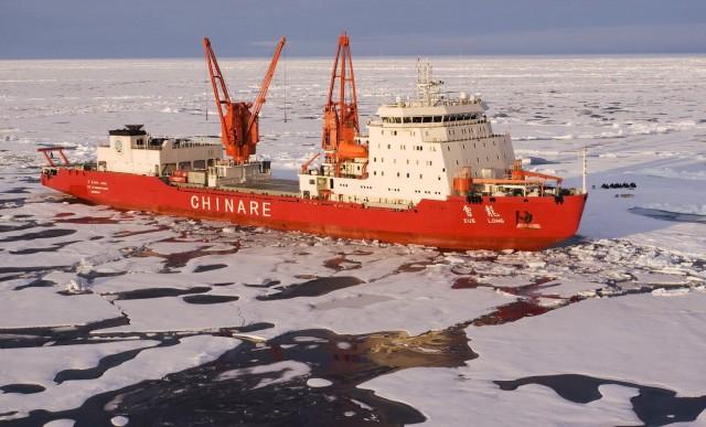 Δημιουργία του 5ου σταθμού της Κίνας στην Ανταρκτική