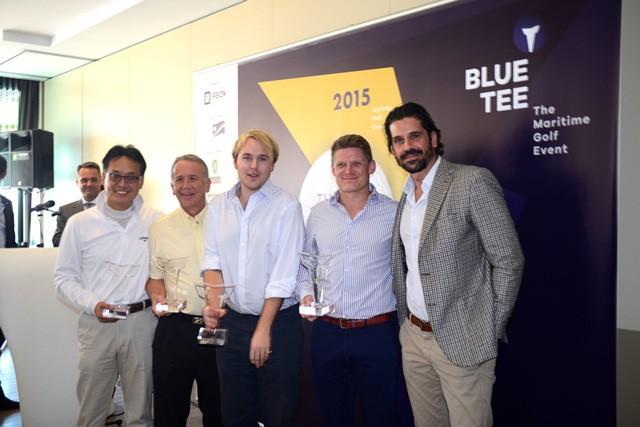 Η ναυτιλιακή κοινότητα έδωσε το παρόν στο 1ο BLUE TEE, The Maritime Golf Event