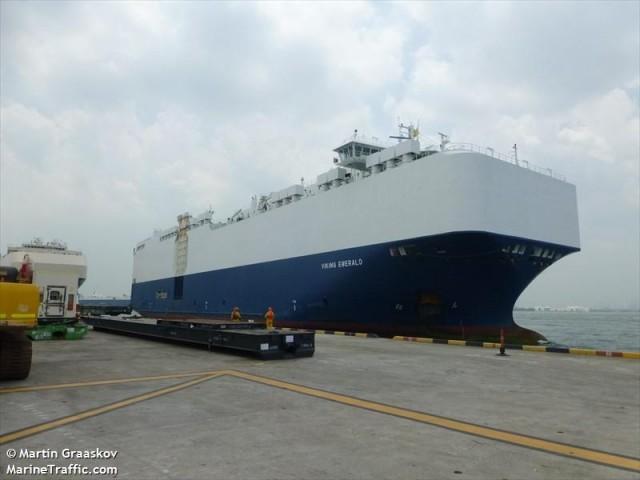 Προσάραξε πλοίο στο Columbia River των Η.Π.Α.