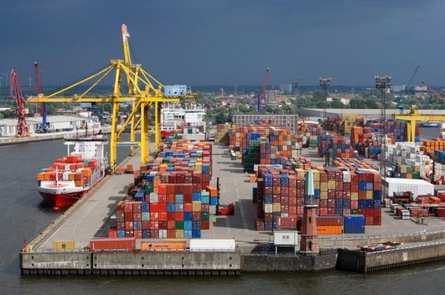 Μειωμένη η διακίνηση στο λιμάνι του Αμβούργου