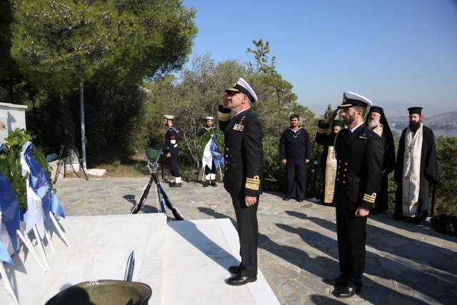 Επιμνημόσυνη δέηση για τους πεσόντες του Π.Ν. σε καιρό πολέμου και ειρήνης