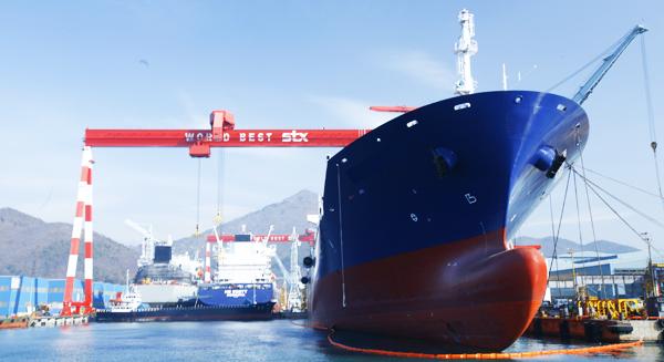 Σχέδιο αναδιάρθρωσης για τα ναυπηγεία STX στη Νότιο Κορέα
