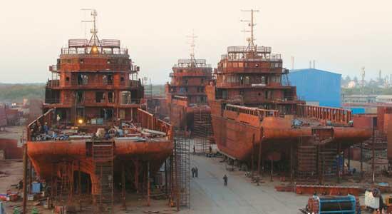 Η Ινδία αποφάσισε έμμεση επιδότηση της ναυπηγικής της βιομηχανίας