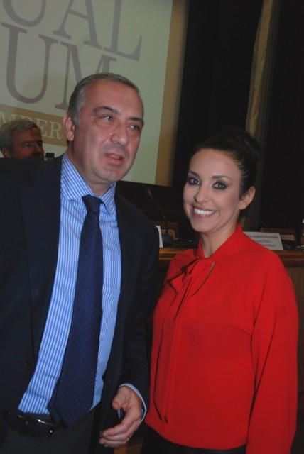 O κ. Νίκος Π. Τσάκος με την κα Ναταλία Μαργιώλη