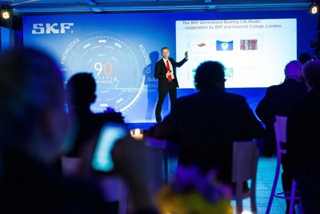 Ο κ. Hugo Carlén ,  Manager SKF EnCompass Field Performance Programme
