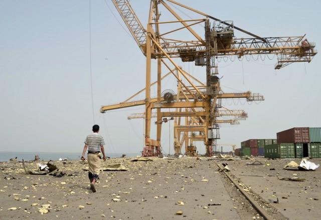 H κατάσταση στα λιμάνια της Υεμένης στις αρχές Δεκεμβρίου