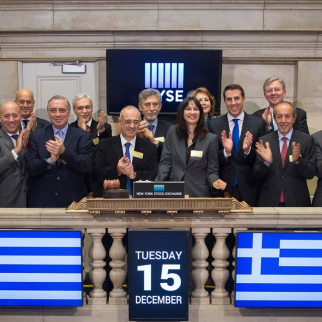 H Ελλάδα τιμώμενη χώρα στο NYSE
