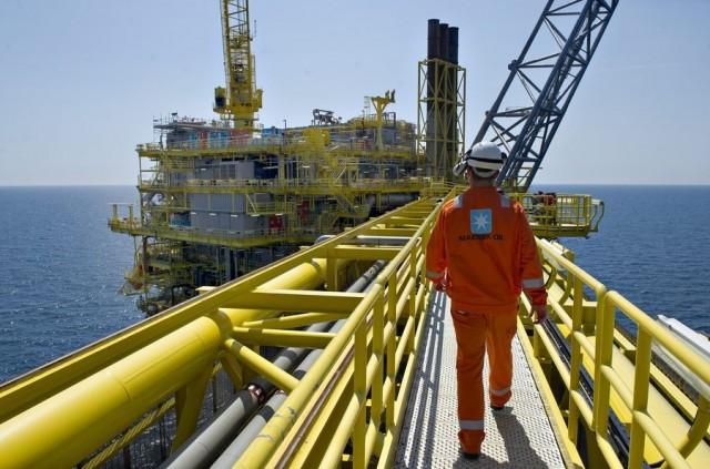 Μείωση της παραγωγής πετρελαίου και αερίου από τα κοιτάσματα της Δανίας στη Βόρεια Θάλασσα