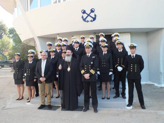 Τελετή υποδοχής πρωτοετών σπουδαστών στη Σχολή Πλοιάρχων της ΑΕΝ Ιονίων νήσων