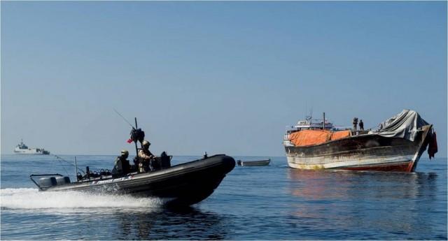 Το Iρανικό Πολεμικό Ναυτικό απέτρεψε πειρατική επίθεση σε δεξαμενόπλοιο