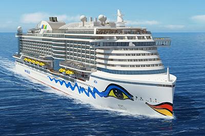 Δείτε σε βίντεο τον δοκιμαστικού πλου του μεγαλύτερου κρουαζιερόπλοιου της AIDA Cruises