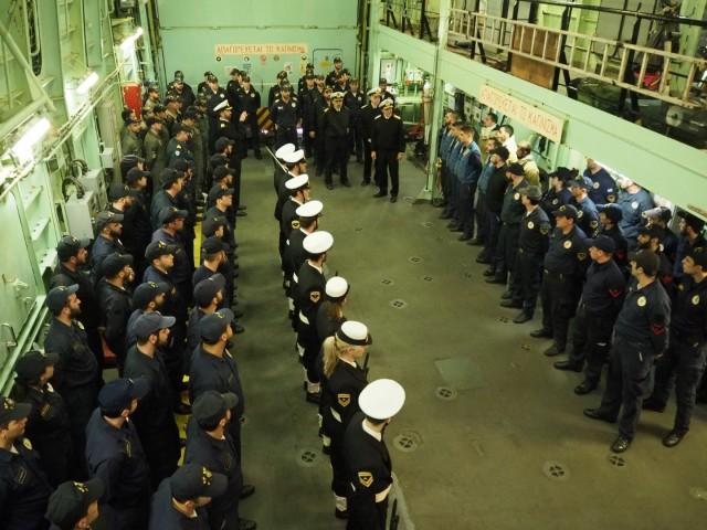 Την υπηρεσία Ναυτικών Τεχνικών Εγκαταστάσεων Λέρου επισκέφθηκε ο Aρχηγός Π.Ν.