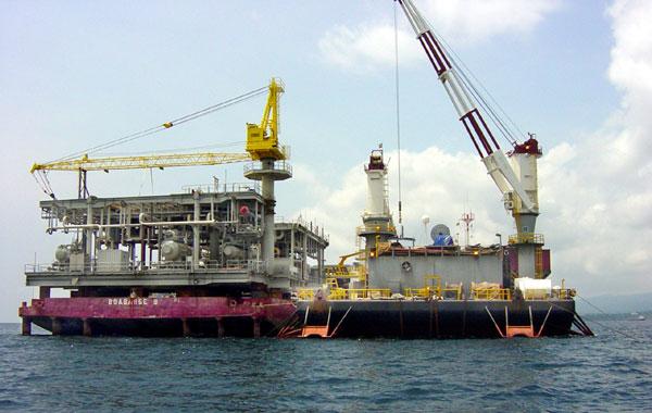 Διαρροή σε αγωγό αερίου μεταφοράς φυσικού αερίου