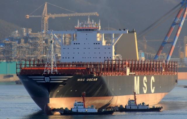 Το μεγαλύτερο πλοίο εμπορευματοκιβωτίων στον κόσμο