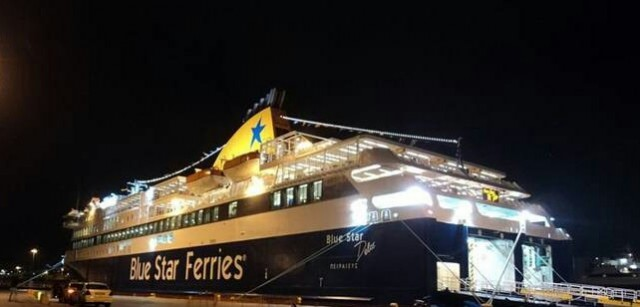 Το πρώτο πλοίο στο λιμάνι του Πειραιά για το 2016 έφερε και το πρώτο νεογέννητο!