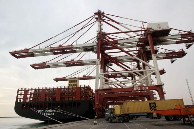 Συγκίνηση για την άφιξη του «MSC DOMITILLE» στο λιμάνι Shahid Rajaei του Ιράν