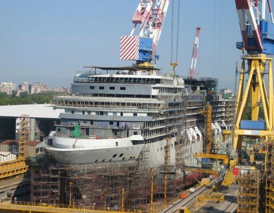 Τέσσερα νέα κρουαζιερόπλοια έκλεισε η Fincantieri