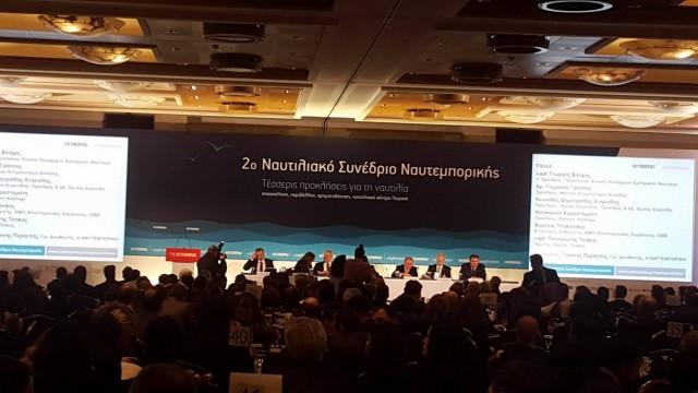 Τι ειπώθηκε στο 2ο Ναυτιλιακό Συνέδριο της Ναυτεμπορικής