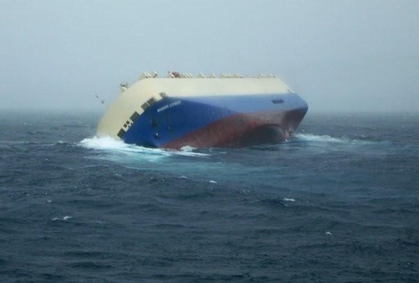 Tο φορτηγό πλοίο «Modern Express» παραμένει ακυβέρνητο στον Βισκαϊκό Κόλπο
