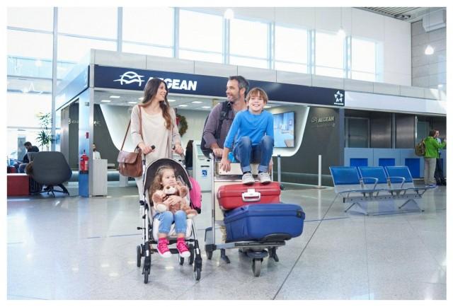 Νέο πακέτο υπηρεσιών για οικογένειες από την Aegean Airlines