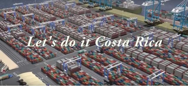 Βίντεο με το νέο τερματικό σταθμό της APM Terminals στην Κόστα Ρίκα
