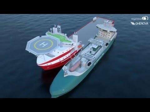 Δείτε σε βίντεο το εντυπωσιακό νέο πλοίο μεταφοράς LNG της ισπανικής εταιρείας «Reganosa»
