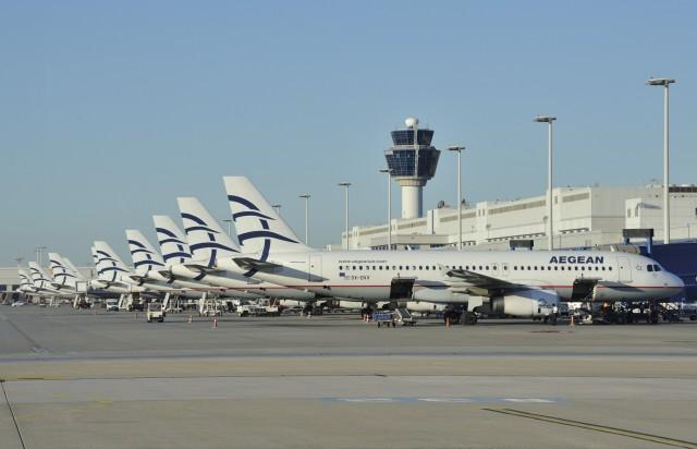 Αegean Airlines: 11,6 εκ. επιβάτες- αριθμός ρεκόρ για τo 2015