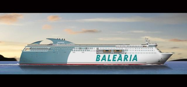 H Balearia ναυπηγεί επιβατηγό – οχηματαγωγό πλοίο που θα κινείται με ντίζελ αλλά και LNG