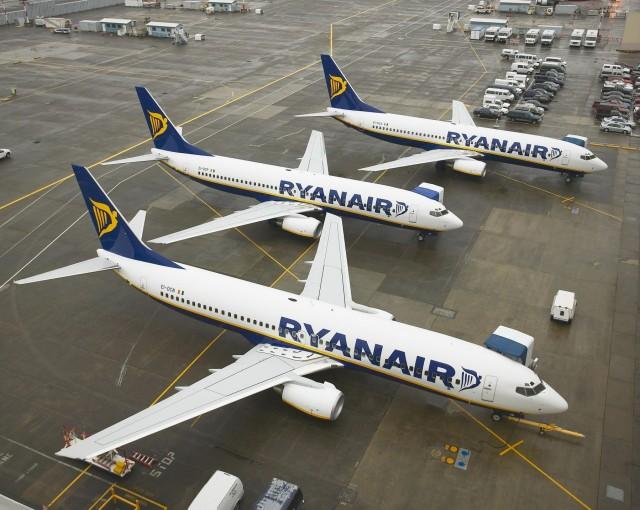 Eπέλαση της Ryanair από την Αθήνα